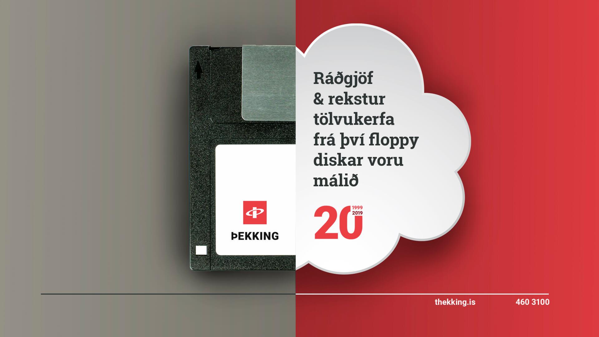 Þekking 20 ára
