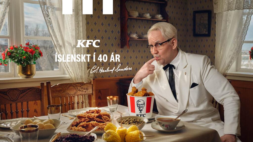 Auglýsingaherferð KFC íslenskt í 40 ár