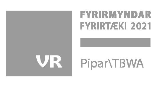 Pipar TBWA fyrirmyndarfyrirtaeki stimplar landscape 2