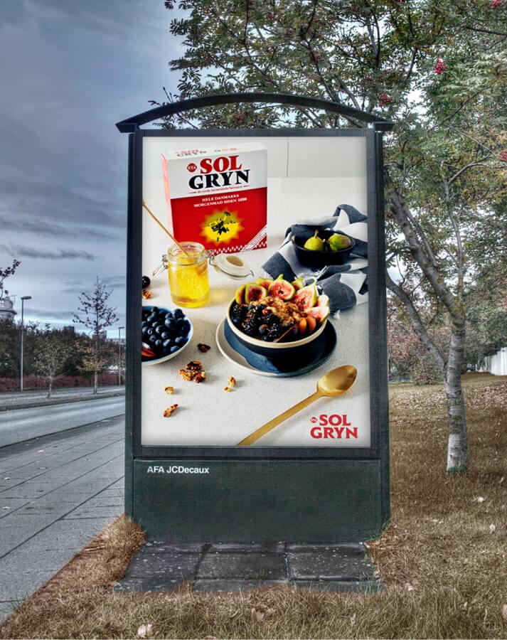 OTA Solgryn - strætóskýli