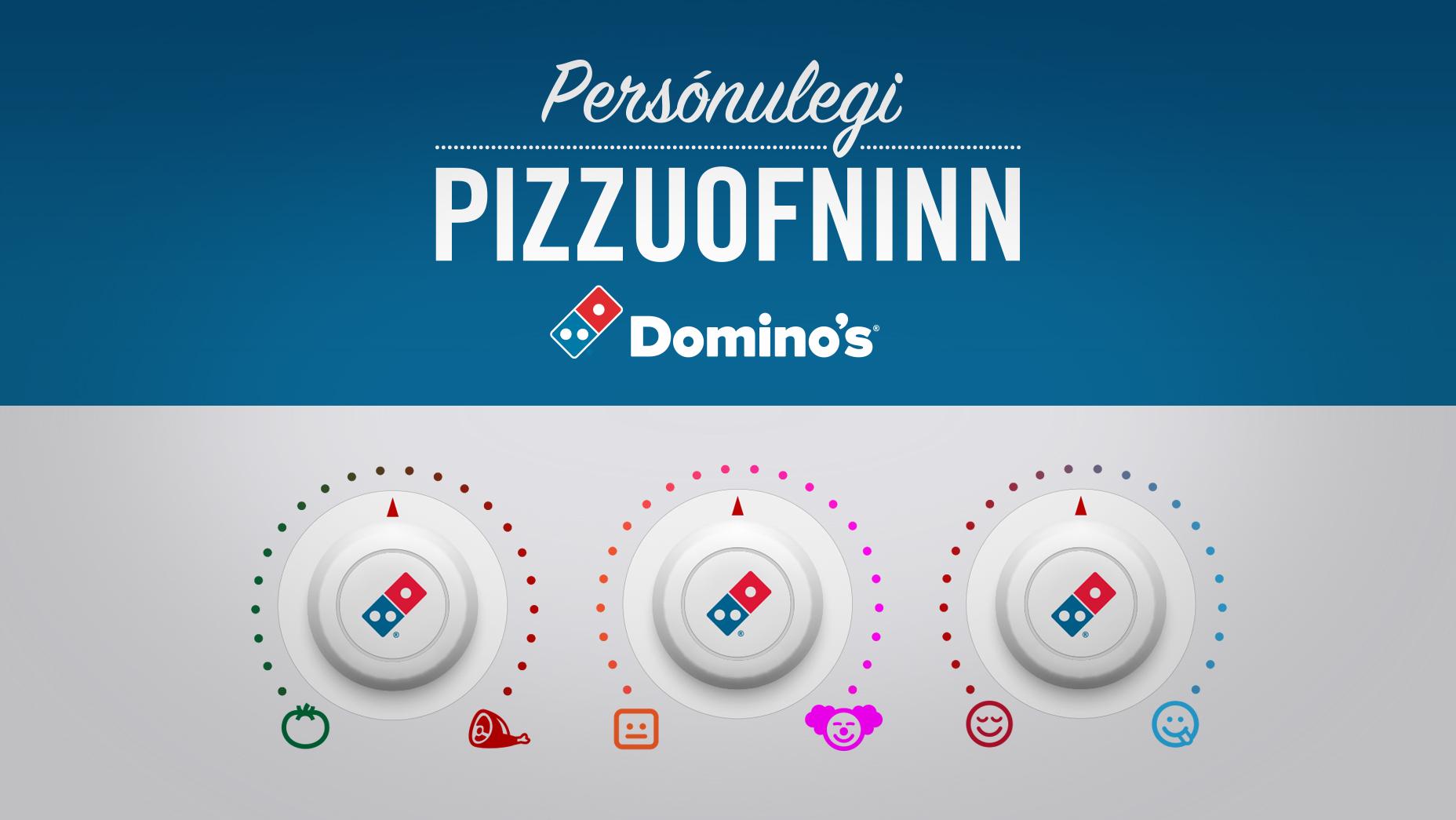 Persónulegi pizzuofninn