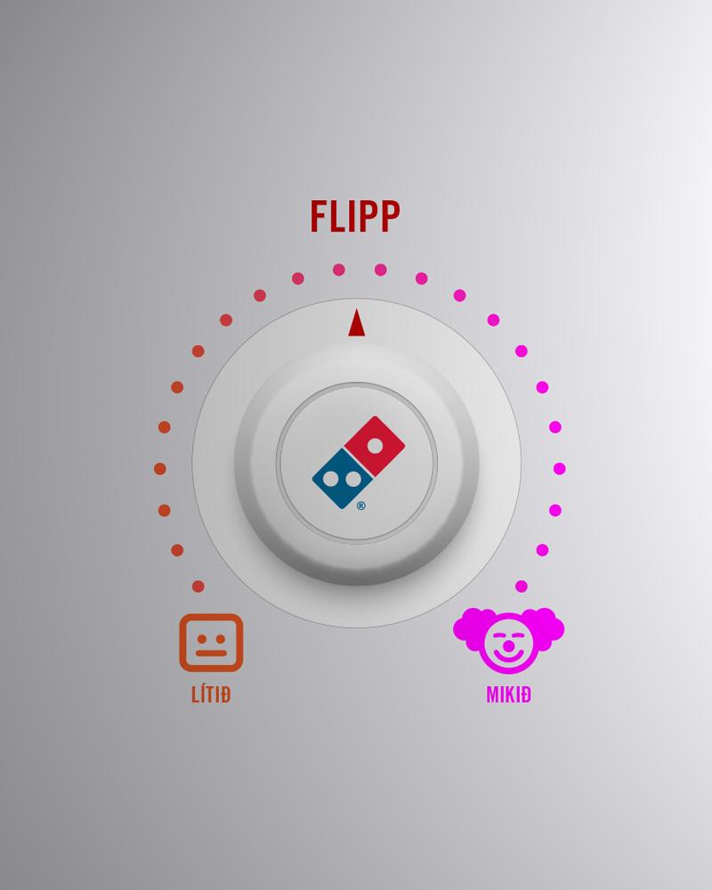 Persónulegi pizzaofninn - stillingar